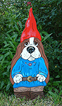 Tippen the Basset Elf-Blue